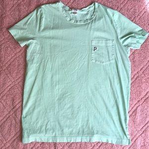 VS PINK light green tshirt